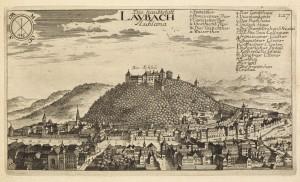 Glavno mesto Ljubljana, Topografija sodobne vojvodine Kranjske