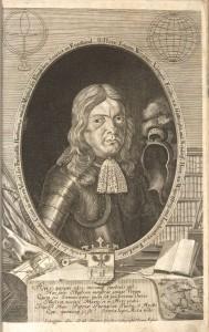 Matija Greischer, portret Janeza Vajkarda Valvasorja, Slava vojvodine Kranjske