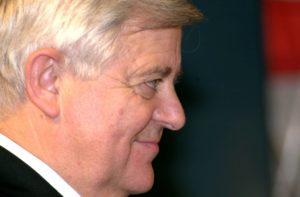 SLOVENIJA , LITIJA , 12.01.2001, 12. JANUAR 2001 PORTRET - PREDSEDNIK RS MILAN KUCAN FOTO: SRDJAN ZIVULOVIC/BOBO DIG
